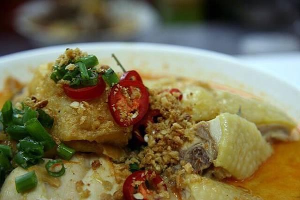 廚師 -- 海南雞腿喇沙