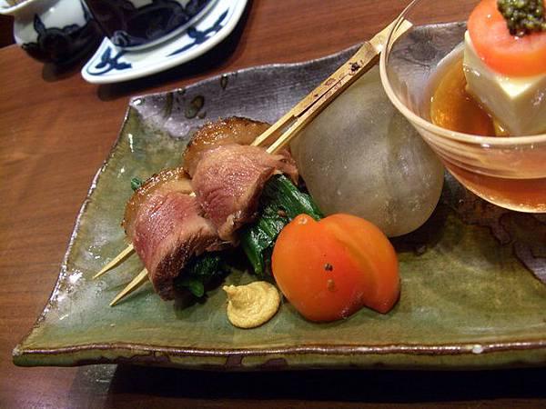 月の麗鮨旬菜 -- 鴨胸卷