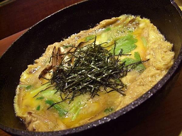 月の麗鮨旬菜 -- 牛蒡豆腐柳川鍋 (煮物)