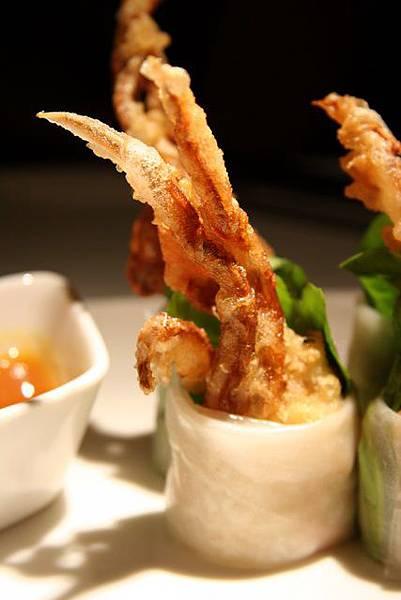 Simply Thai -- 軟殼蟹米紙卷
