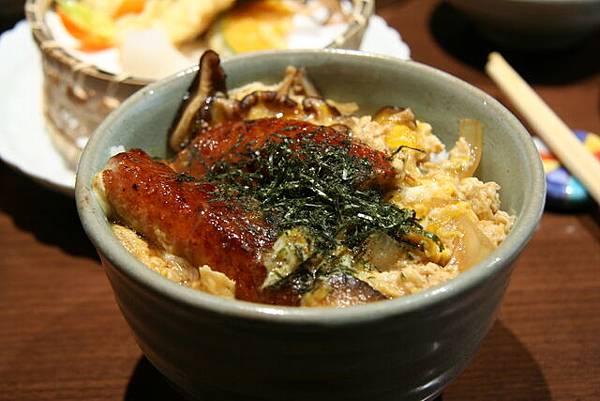 月の麗鮨旬菜 -- 滑蛋鰻魚飯