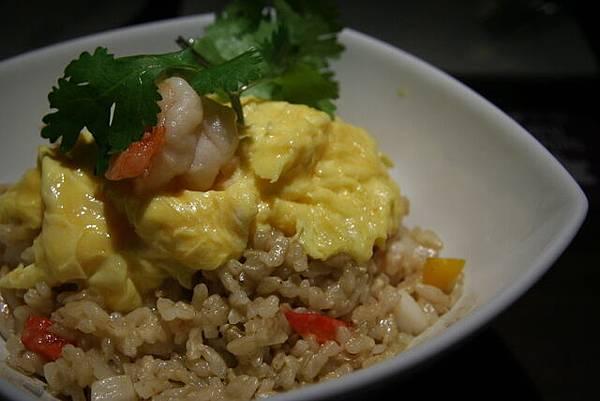 Simply Thai -- 青咖喱海鮮炒飯