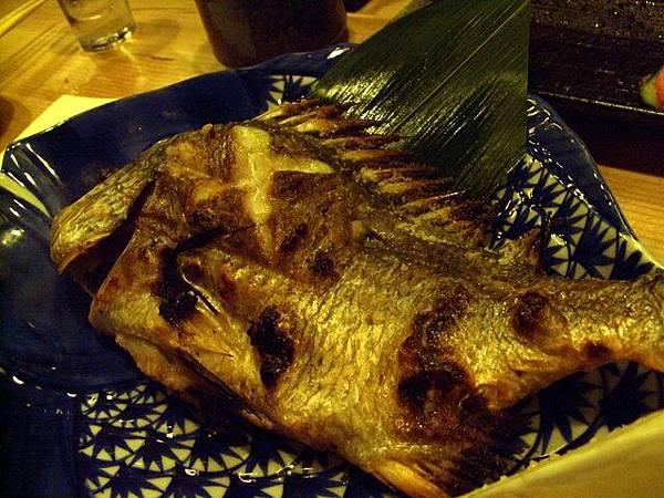 般若湯 -- 烤鯛魚