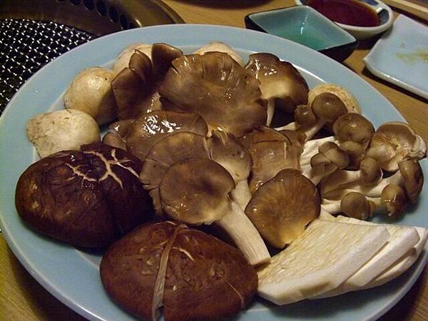 和宴 -- 雜菌拼盤