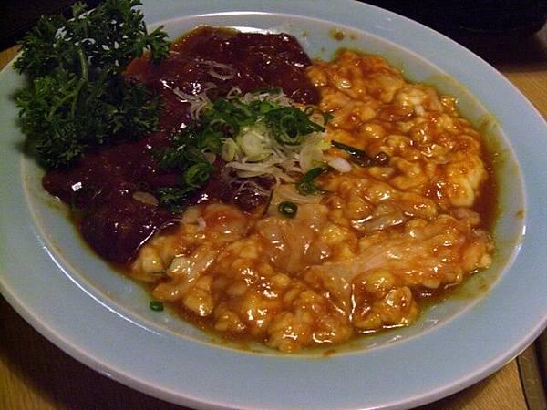 和宴 -- 牛肝 & 牛大腸 (味噌)