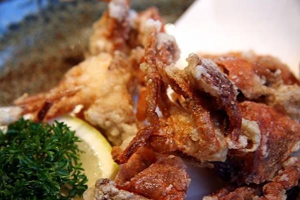 とん吉 -- 酥炸軟殼蟹