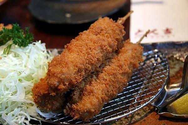とん吉 -- 大蒜豬柳串