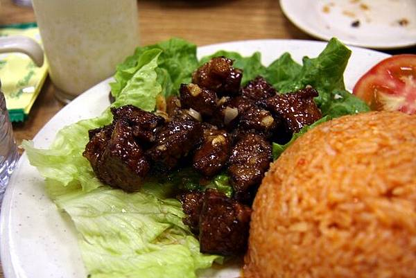 清亭 -- 牛柳粒紅飯