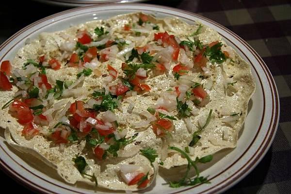 媽媽印度餐館 -- 瑪莎拉胡椒脆餅
