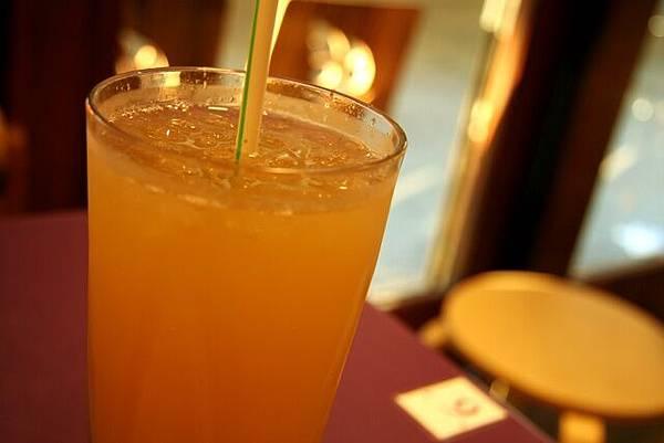 天后叻沙 -- 鹹柑桔蜂蜜特飲