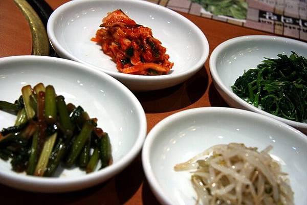 阿里朗 -- 四式小菜