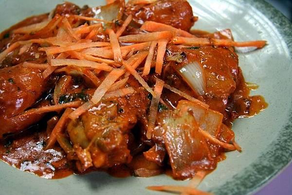 Osmania -- 菠菜咖喱雞