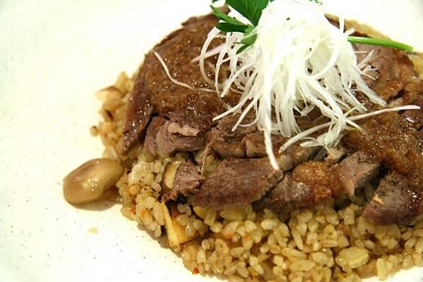 銀座藏人 -- 牛肉磨菇炒飯