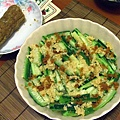 懶人料理 -- 金銀蒜蒸勝瓜