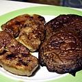 平安夜宴 2006 -- 煎鴨肝 & 大磨菇
