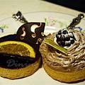 平安夜宴 2006 -- 香橙巧克力塔 & 栗子塔