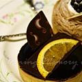 平安夜宴 2006 -- 香橙巧克力塔