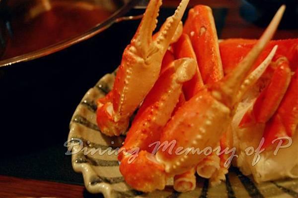 禪八-- 松葉蟹