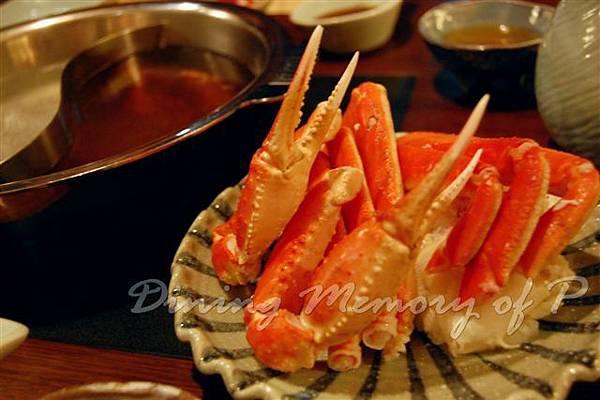 禪八 -- 松葉蟹