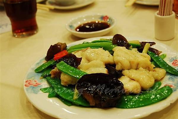鳳城酒家 -- 炒斑塊