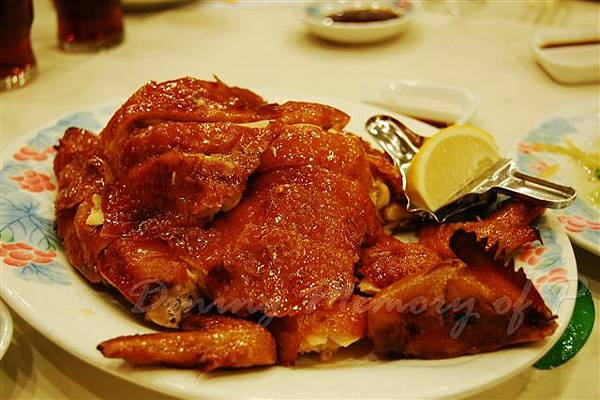 鳳城酒家 -- 炸子雞