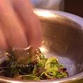一月 -- 沙拉以橄欖油 & 鹽調味