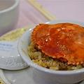 得龍大飯店 -- 花蟹糯米飯 (近攝)