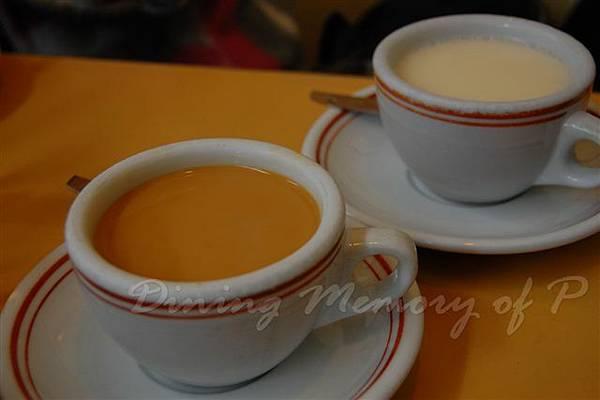 海運茶冰廳 -- 奶茶 & 杏仁霜
