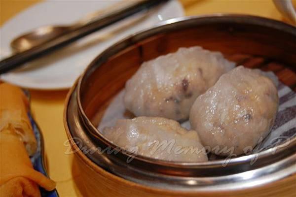 怡東軒 -- 瑤柱鮑魚菰餃