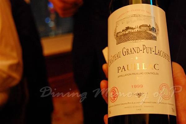 Petrus -- Chateau Grand Puy Lacoste 1999, Seme cru Classe, Pauillac