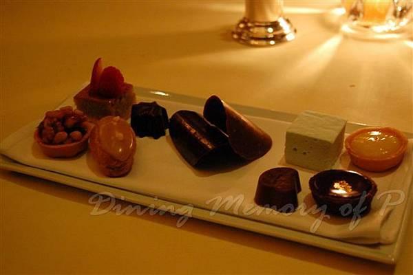 Petrus -- 餐後小甜點