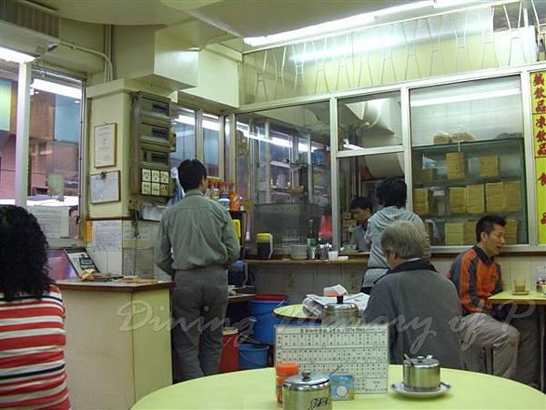 豪華咖啡餐廳 -- 店內