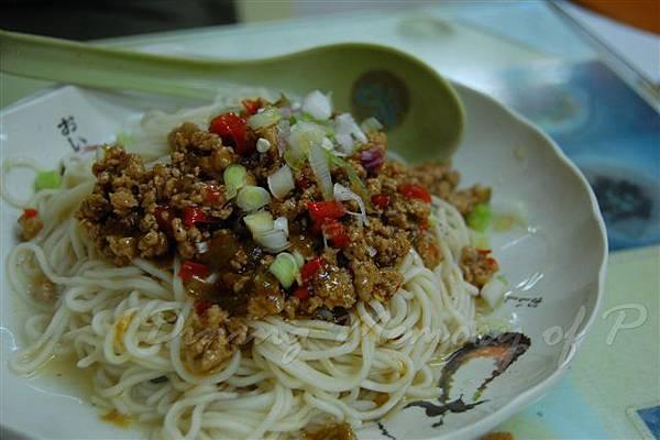 北京水餃店 -- 麻辣哨子拌麵