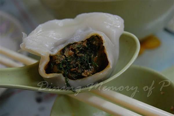 北京水餃店 -- 茴香豬肉水餃 (切面)