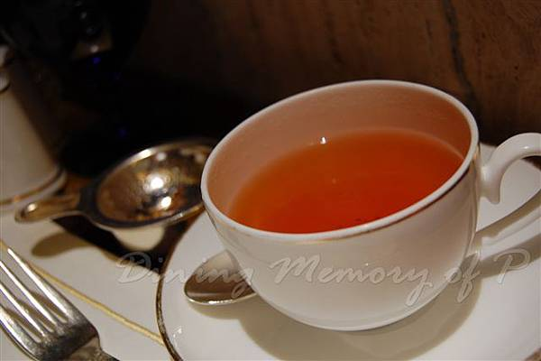 麗嘉酒店咖啡廳 -- 大吉嶺茶
