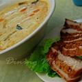 泰軒 -- 豬頸肉冬蔭功米線