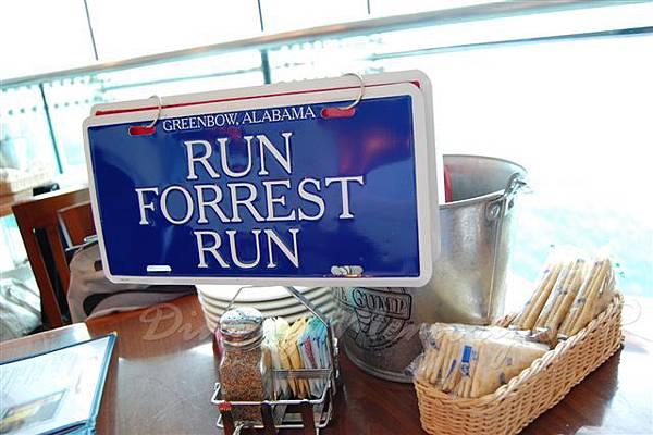 """阿甘蝦餐廳 -- """"Run, Forrest, Run!"""""""