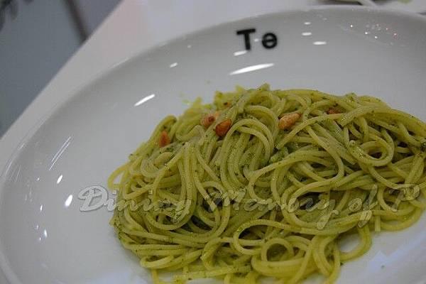 Te -- 松子仁青醬義大利麵