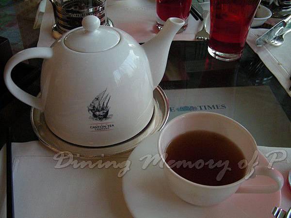萬豪酒店咖啡室 -- Soft Spicy Tea