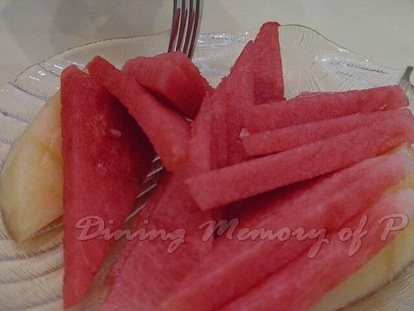 雲陽閣 -- 水果盤