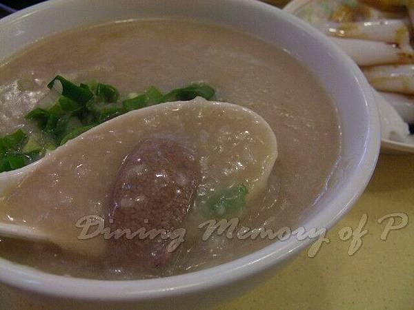 金峰靚靚粥麵 -- 豬肝粥