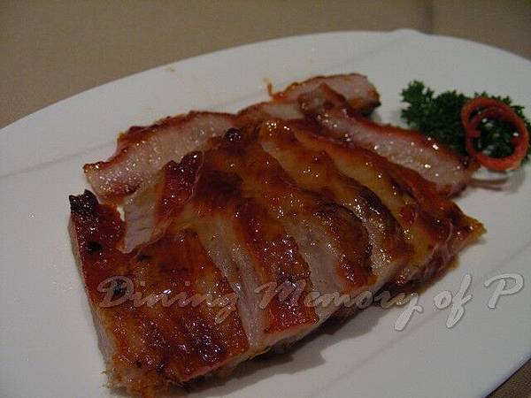 利苑 -- 蜜燒豬頸肉