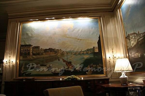 Toscana -- 牆上的畫