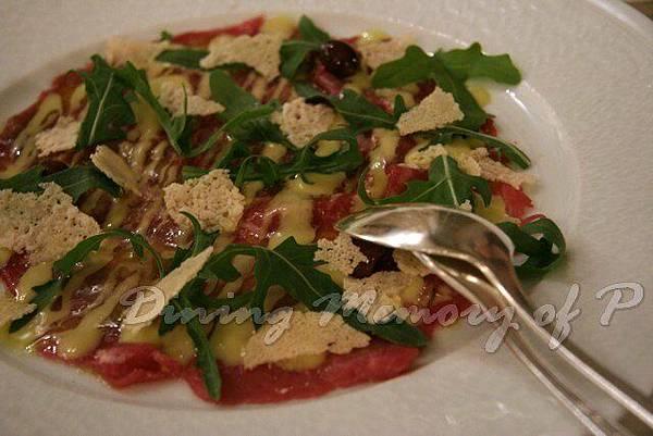 Toscana -- 義大利式生牛肉薄片