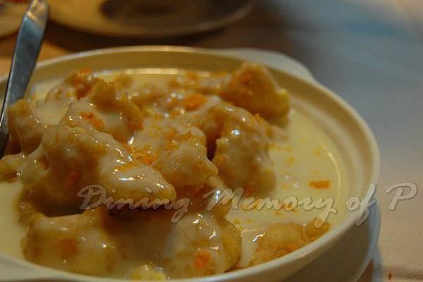 辣蟹莊 -- 起司金粟炸斑塊