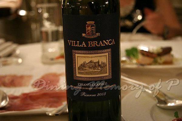 Toscana -- Chianti Classico Villa Branca Riserva 2003