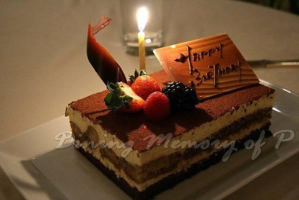 Toscana -- 提拉美蘇生日蛋糕