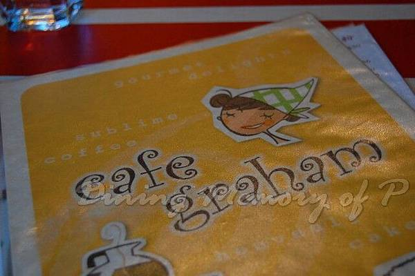 Cafe Graham -- 菜單
