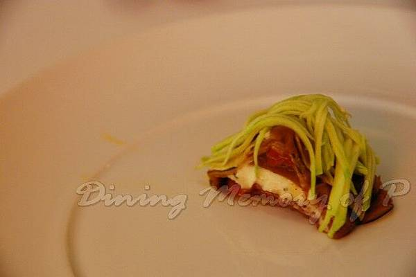 Aspasia -- 以義大利黃瓜、小蕃茄、南瓜和茄子做成