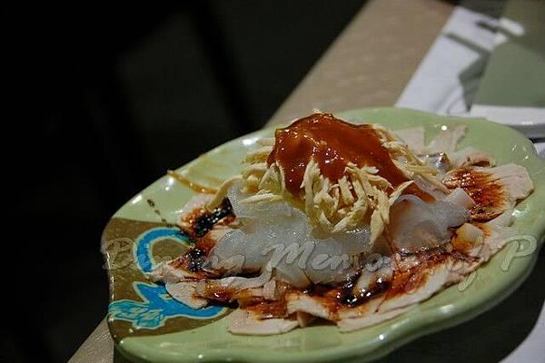四川樓 -- 冷盤雙拼 (棒棒雞 & 蒜泥白肉)